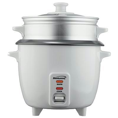 Brentwood 8 Cup Non-Stick Rice Cooker Steamer
