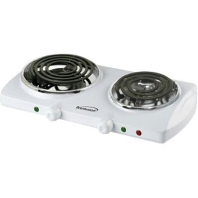 Brentwood 1500 Watt Electric Double Burner