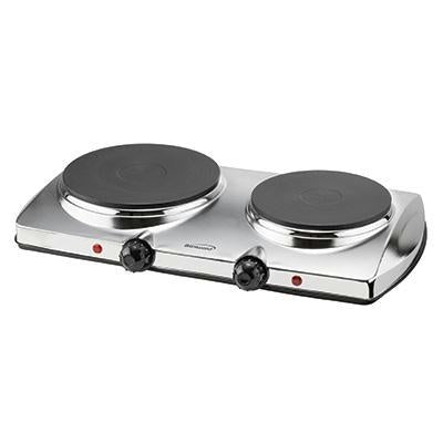 Brentwood 1440 Watt Electric Double Hot Plate