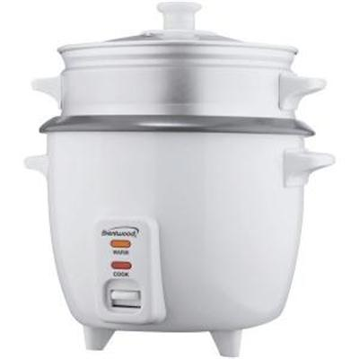 Brentwood 15 Cup Non-Stick Rice Cooker Steamer