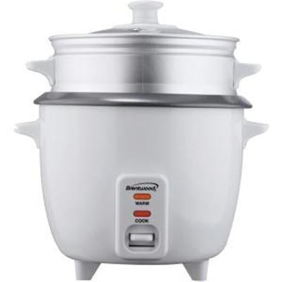 Brentwood 5 Cup Non-Stick Rice Cooker Steamer