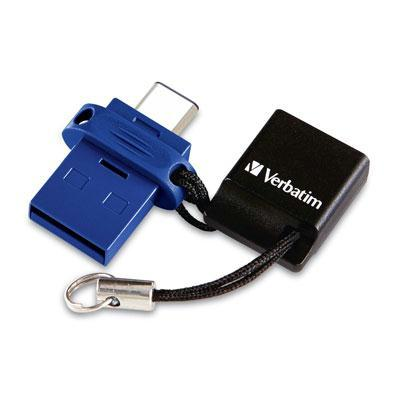 Verbatim 64GB Store'n'Go Dual USB Flash Drive