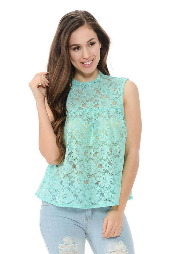 Diamante Women's Top