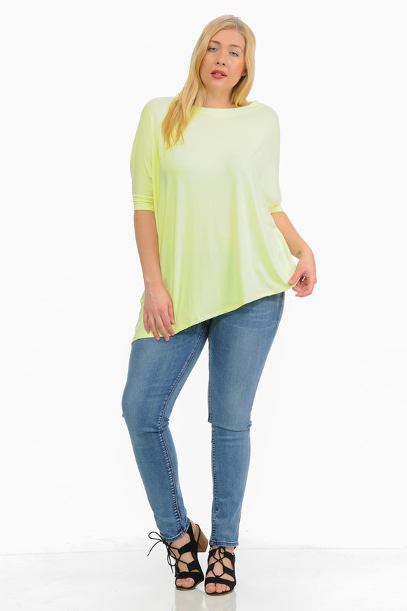 Diamante Women's Top - Plus Size
