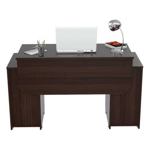 Computer Desk with Four Drawers - Melamine /Engineered Wood