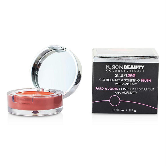 Fusion Beauty Sculptdiva Contouring & Sculpting Blush With Amplifat - # Crave --8.5g-0.3oz By Fusion Beauty