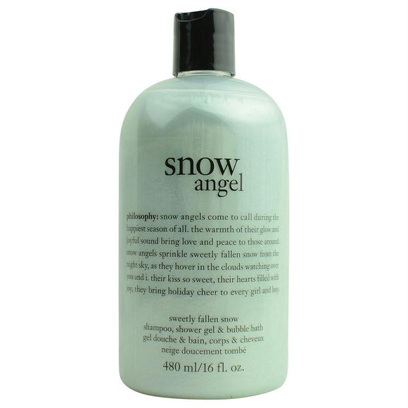 Snow Angel Shampoo, Shower Gel & Bubble Bath --480ml-16oz