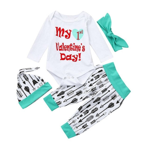 Fashion Newborn Infant Baby Boy Girl Letter Romper
