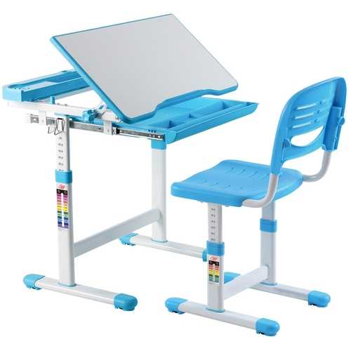 Multifunctional Height Adjustable Children's Desk Chair Set