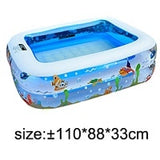 Inflatable Square Swimming Pool