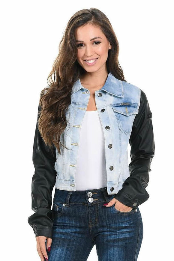 M.Michel Women's Denim Jacket