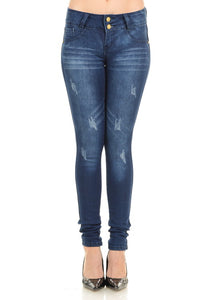 M.Michel Women's Jeans, Levanta Pompa, Push-Up -