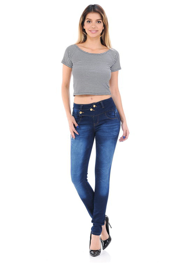 M.Michel Women's Jeans, Levanta Cola, Push-Up -