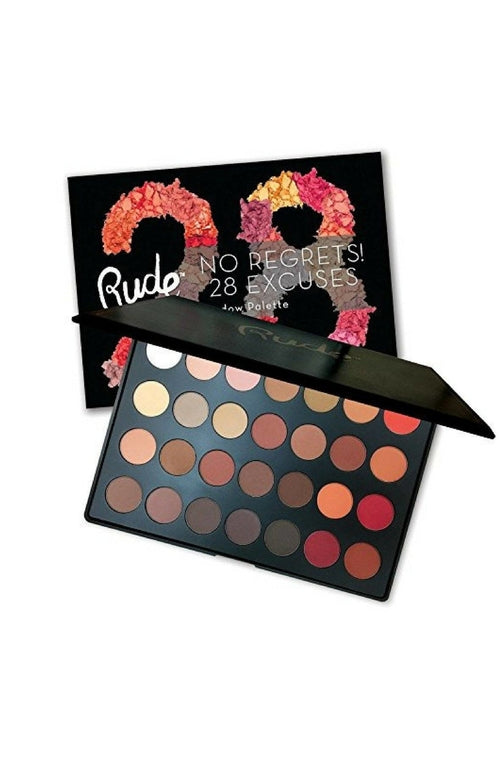 RUDE No Regrets! 28 Excuses Eyeshadow