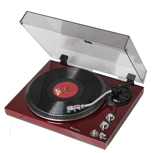 Turntable with Built-in Phono Pre-amplifier,