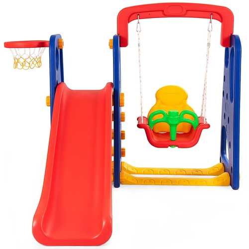 3 in 1 Junior Children Climber Slide Playset