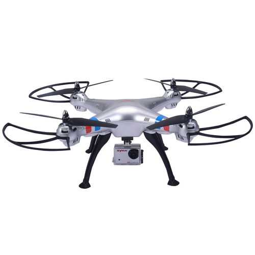 Syma X8HG 2.4Ghz 4CH 6-Axis Gyro RC Quadcopter with HD Camera RTF