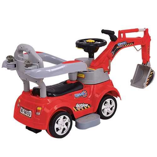 Electric Remote Control Riding Excavator Digger Car