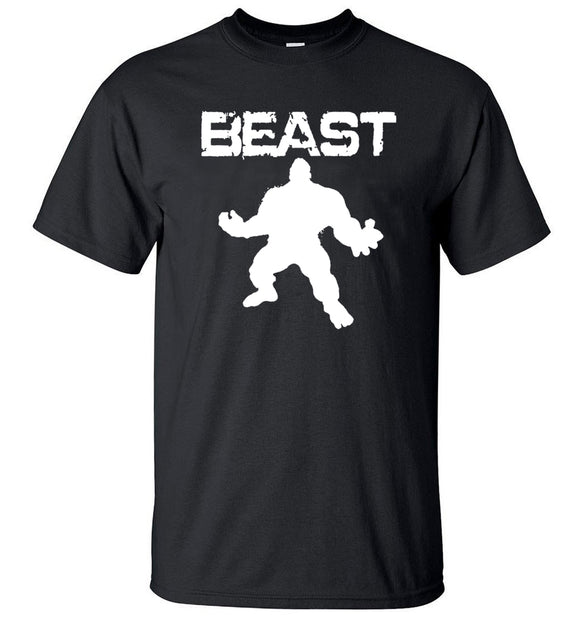 Fitness Beast Printed T-Shirt