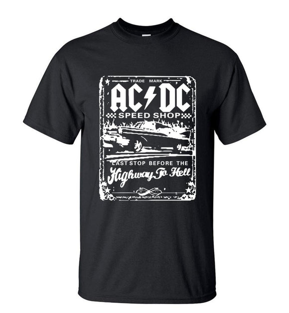 AC/DC Graphic Printed T - Shirts