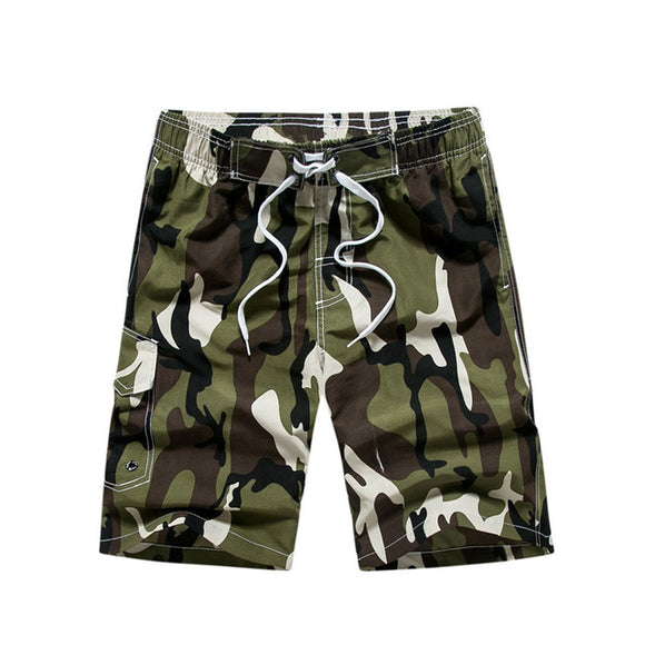 Camouflage Quick Drying Boardshorts