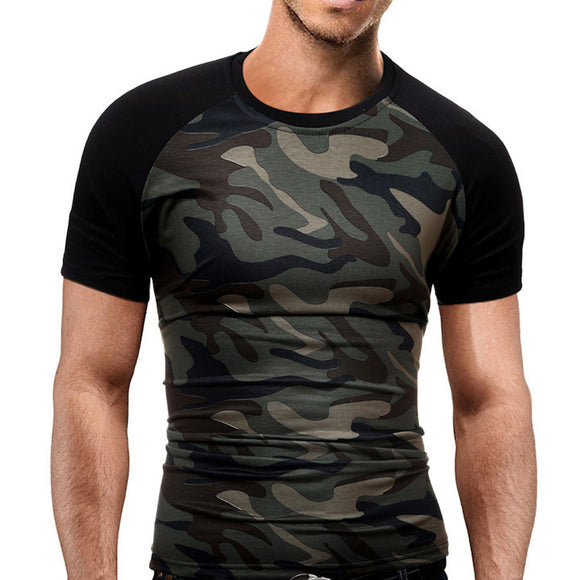 Men's Slim T-Shirt - Camouflage