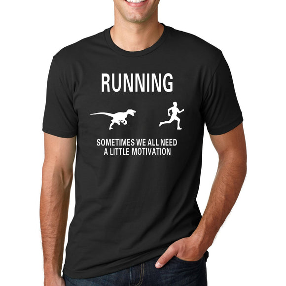 Funny Dinosaur to Motivate T-Shirt