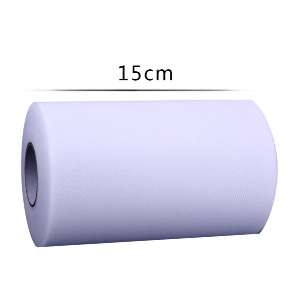 Glitter Sequin Tulle Roll 15cm X 100 Yards