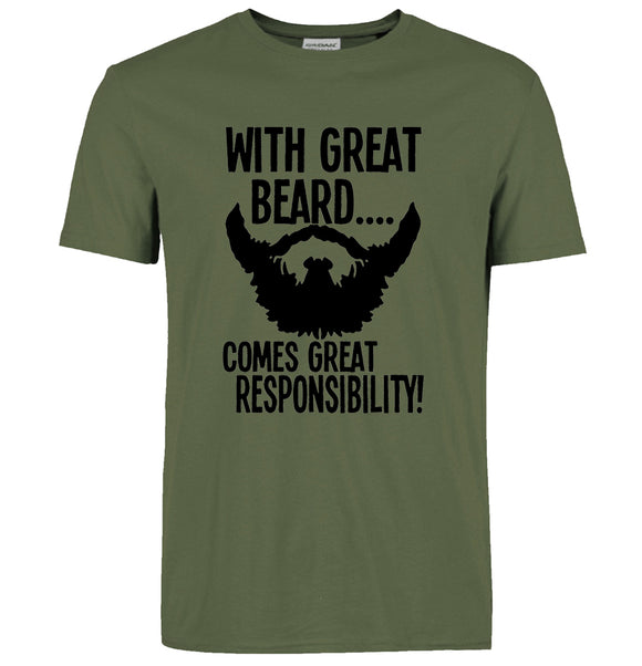 Funny With Great Beard Men's Tee
