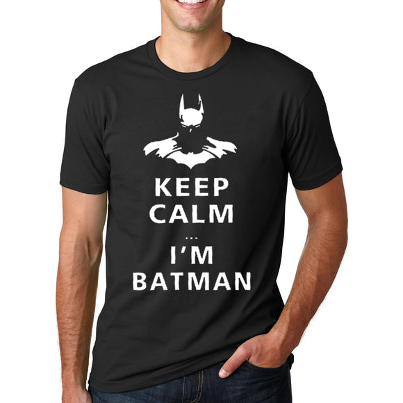 Funny Keep Calm I'm Batman Tee