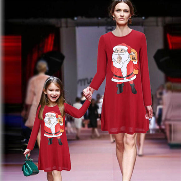 Christmas Dresses for Mother & Daughter