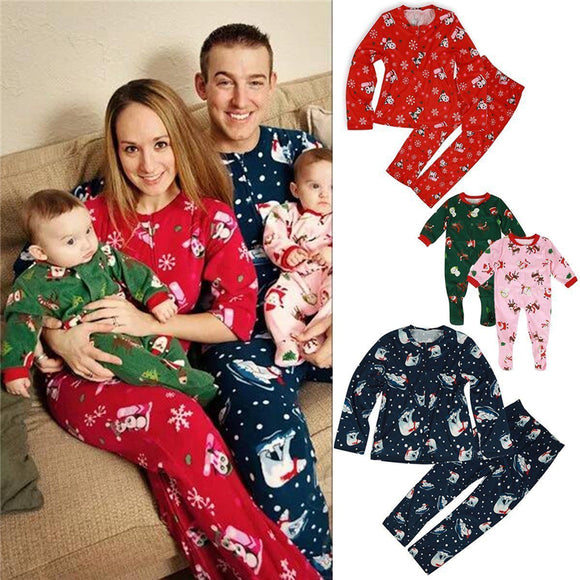 Family Match Christmas Pajamas