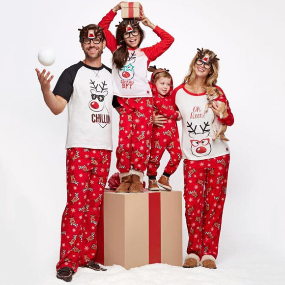 Family Christmas Pattern Pajamas