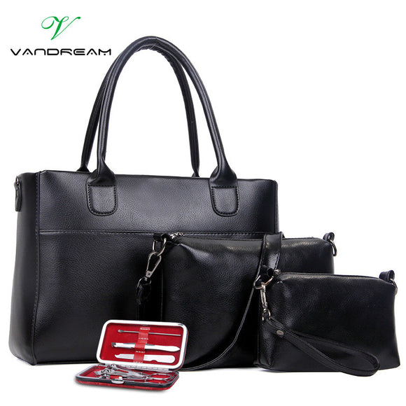Handbag Fashion Set 4Pcs