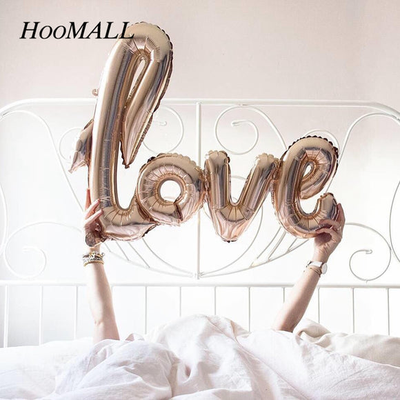 Love Letter Foil Balloon