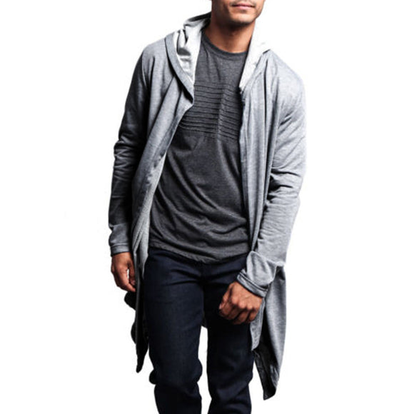 Long Sleeve Hooded Cardigan
