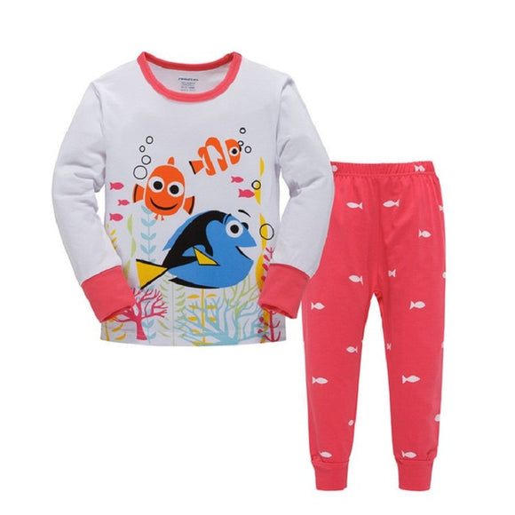 Children's Cotton Character Pajamas