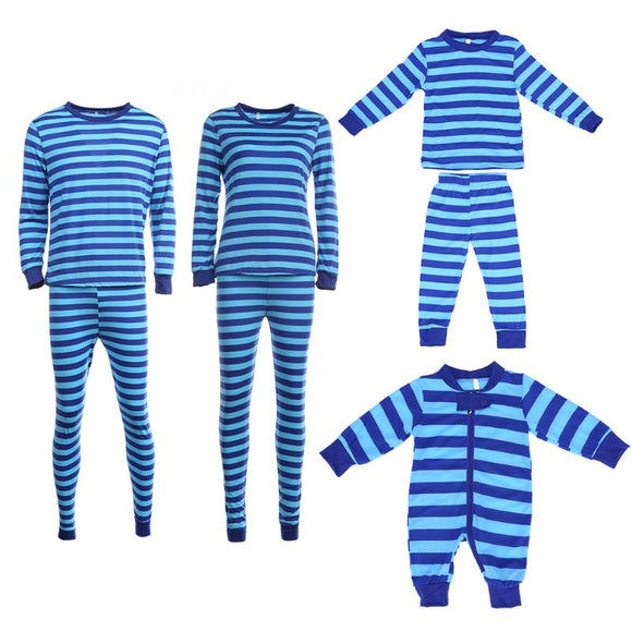 Family Pajama Stripes