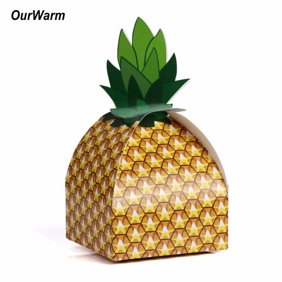 12Pcs Pineapple Candy Box