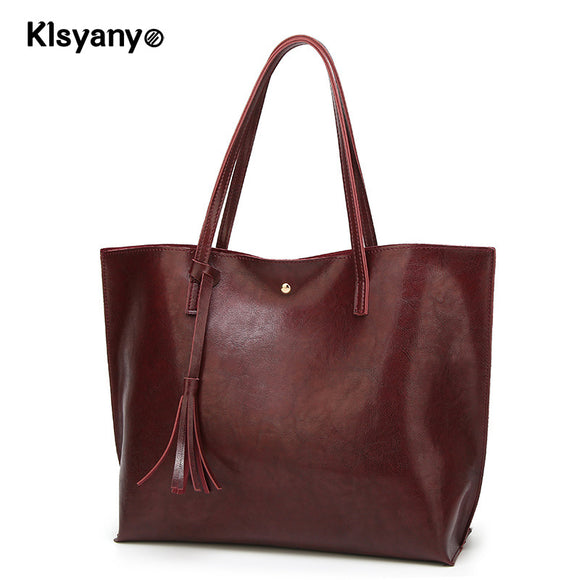 Klsyanyo Brand Designer PU Leather Bags for Women