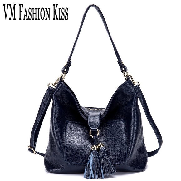 VM FASHION KISS Genuine Leather Multi-pocket Purse