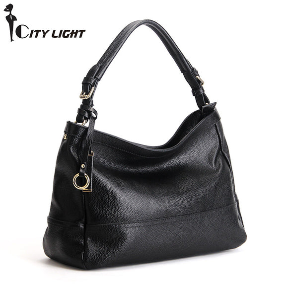 Luxury SOFT Genuine Leather HOBO Bag
