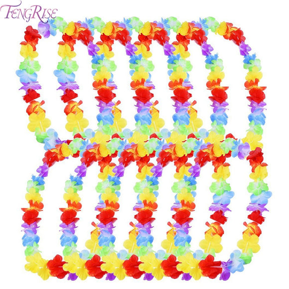 10pcs Hawaiian Leis