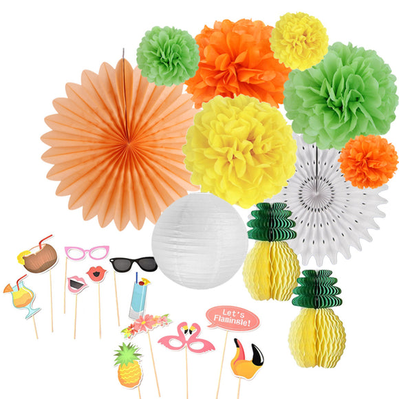 Pack of 12 Summer Party Decoration Kit