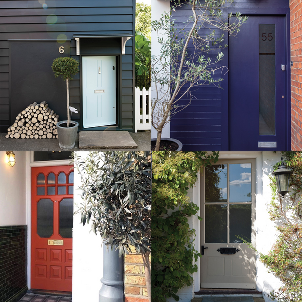 Picking a Paint for your Front Door