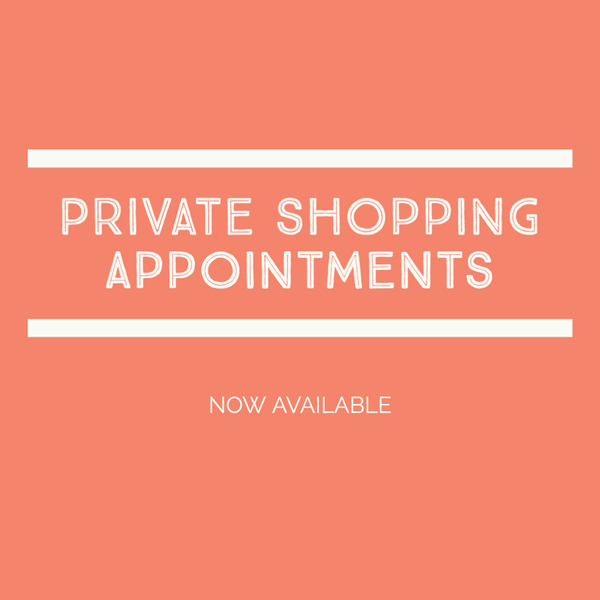 Schedule a Private Shopping Appointment
