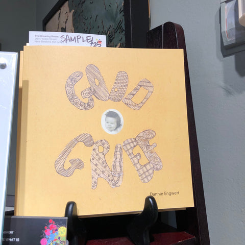 Dannie Engwert's Book, Good Grief, which is available for purchase at The Drawing Room