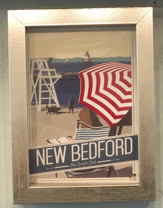 New Bedford Post Card, South End