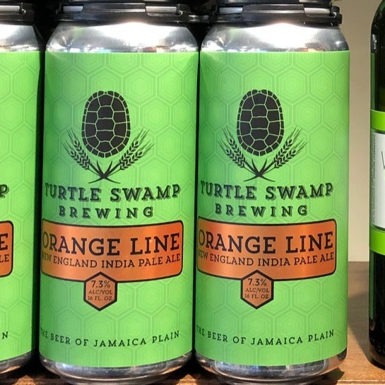 Orange Line, New England IPA