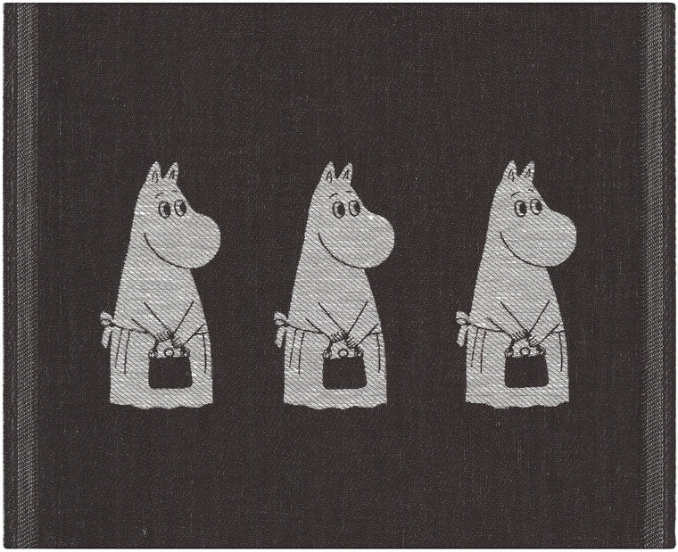 """Moomin Mama"" Dish Cloths and Hand Towels by Ekelund Wovens"